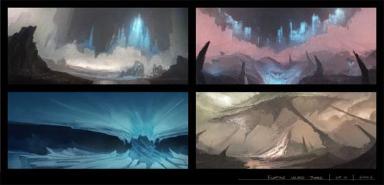 Gavin Li Environment Concept Art Showcase Eden Star